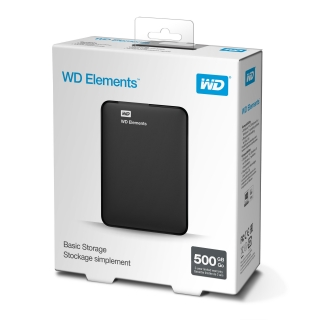 WD Elements Portable 500GB Ext. 2.5
