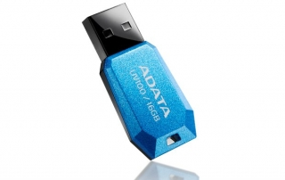ADATA Flash Disk 16GB USB 2.0 DashDrive UV100, modrá