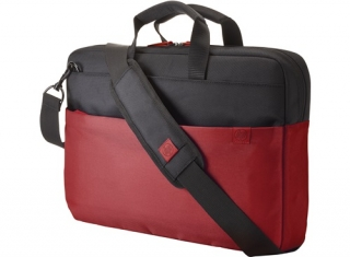 "HP 15,6"" Duotone BriefCase - Red - BAG"