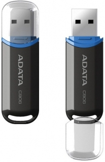 ADATA Flash Disk 16GB USB 2.0 Classic C906, černý