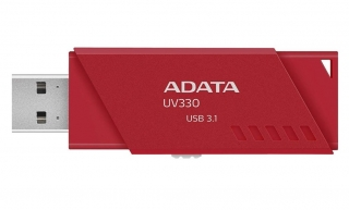 ADATA UV330 Flash Disk 64GB, USB 3.1, Červená